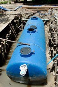 Replacing Septic Tanks